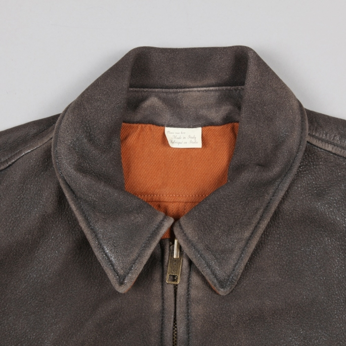 Levi's Vintage Clothing Levis Vintage 1940s Reversible Leather Jacket - Brown (Image 1)