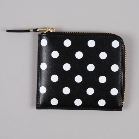 Polka Dot Print S (SA3100PD) - Black
