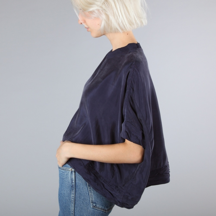 Perks & Mini PAM Hoopoe Top - Navy (Image 1)