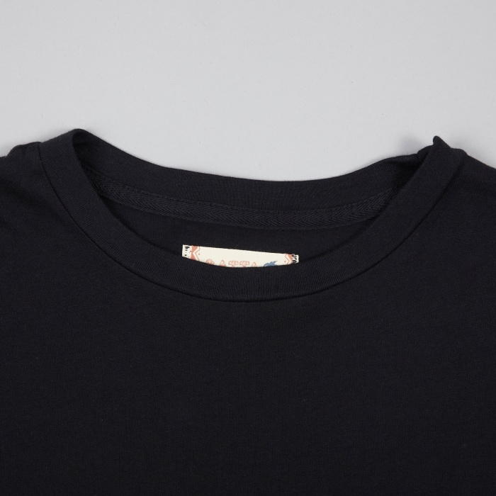 Satta Customs LS Tee - Washed Black (Image 1)