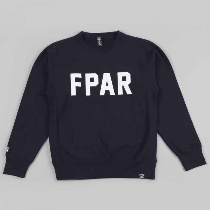 FPAR Bench Crew Neck - Navy (Image 1)