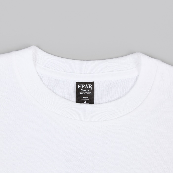 FPAR How To Be Tee - White (Image 1)