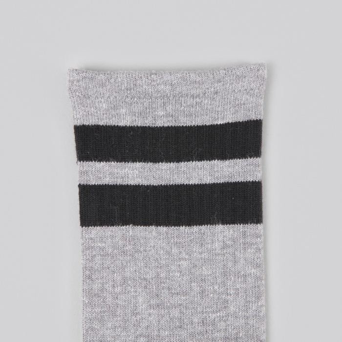 Neighborhood Classic 3 Pack CN Socks - Gray (Image 1)