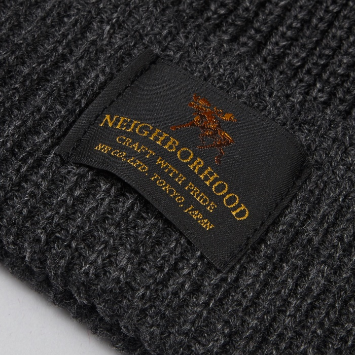Neighborhood Jeep Beanie - Charcoal (Image 1)