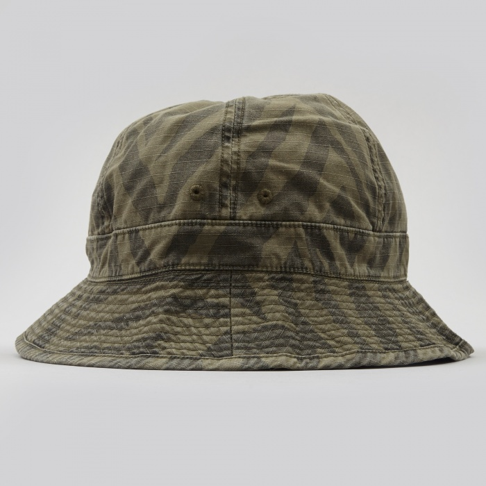 Neighborhood Zebra Ball Hat - Olive Drab (Image 1)