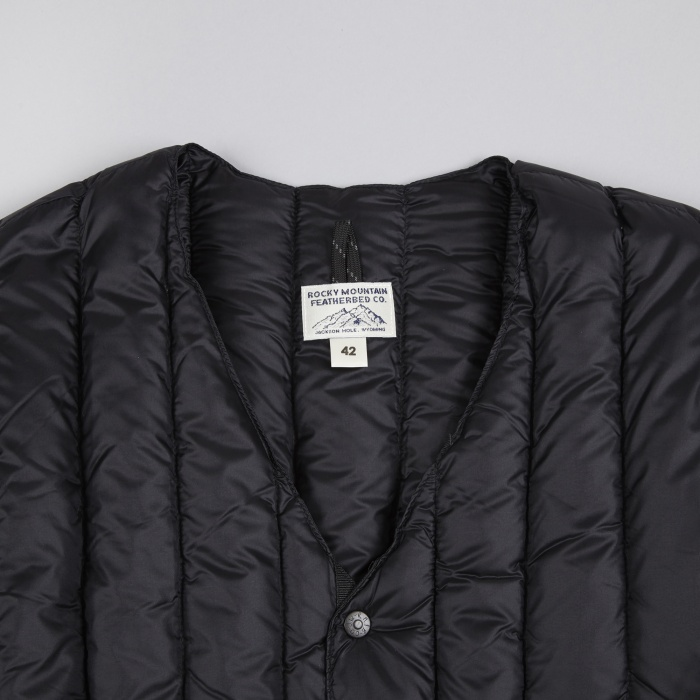 Rocky Mountain Featherbed Six Month Cardigan - Black (Image 1)