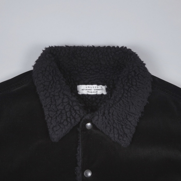 Unused Fleece Lined Jacket - Black (Image 1)