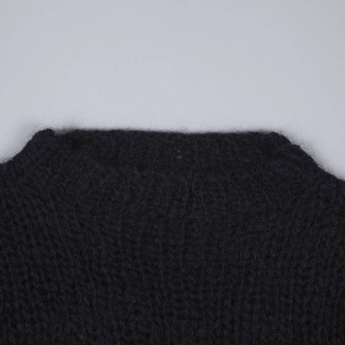 Unused Mohair Knit Jumper - Black (Image 1)