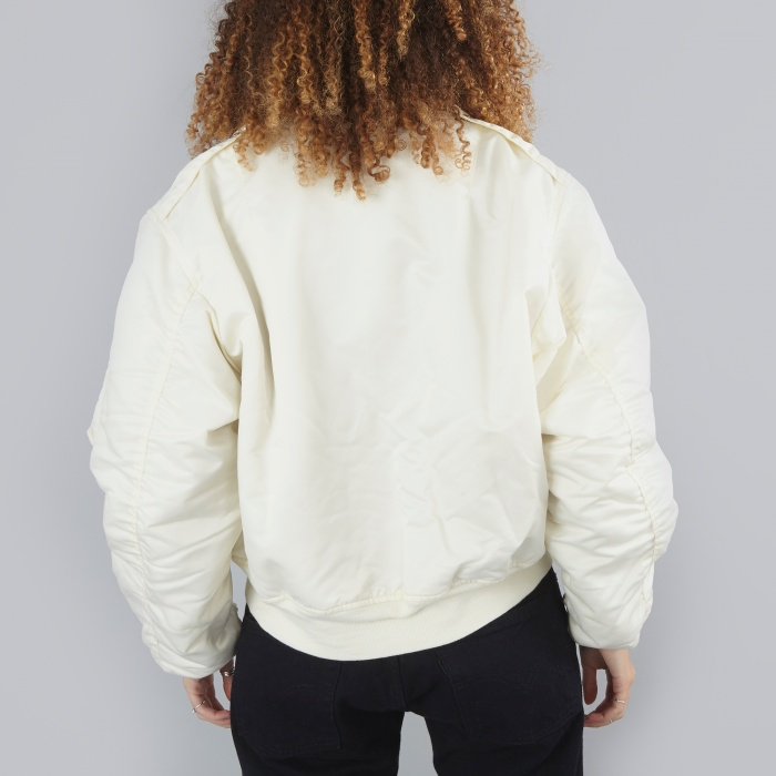 Unused Bomber Jacket - White (Image 1)