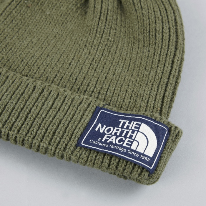The North Face Black Label The North Face Shipyard Beanie - Burnt Olive Green (Image 1)