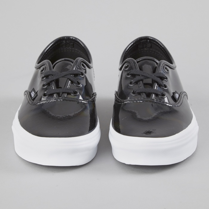 Vans Authentic Patent Leather - Black (Image 1)