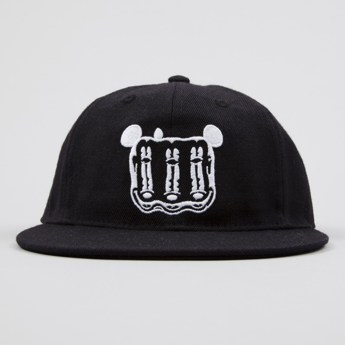 Wood Wood x Disney Dex Cap - Black (Image 1)