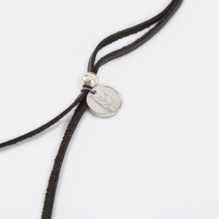 Maple Bolo Necklace - Black (Image 1)