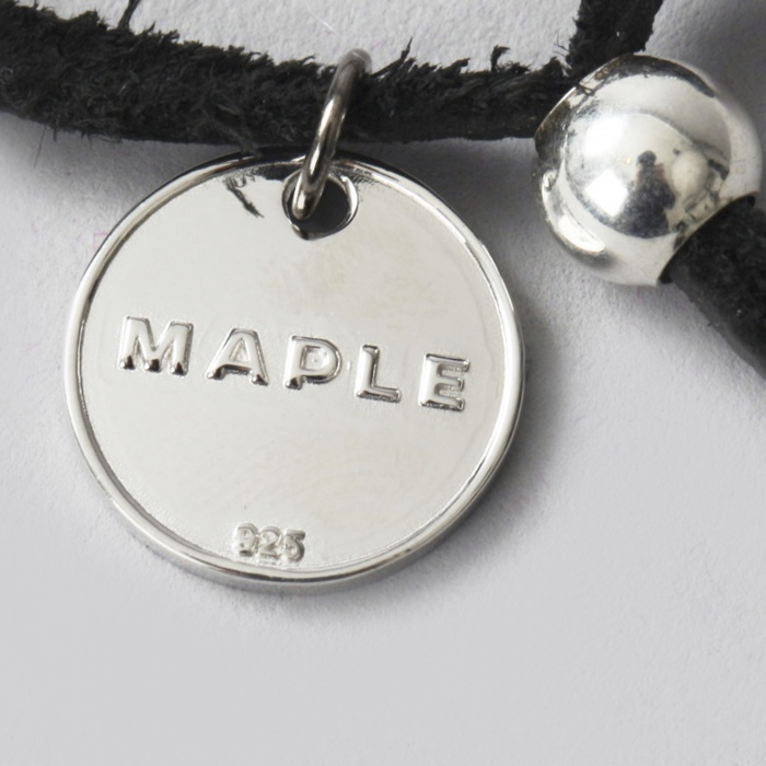 Maple Long Tails Key Ring - Black (Image 1)