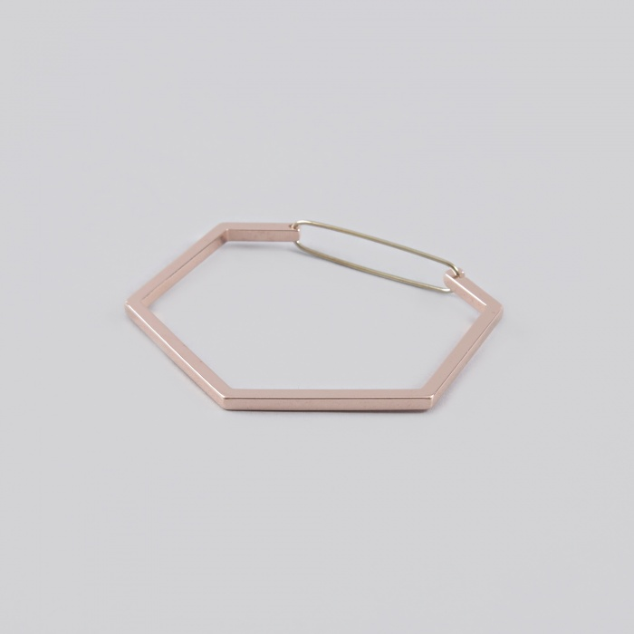 The Boyscouts Bracelet Seize Hexagon - Rose gold (Image 1)