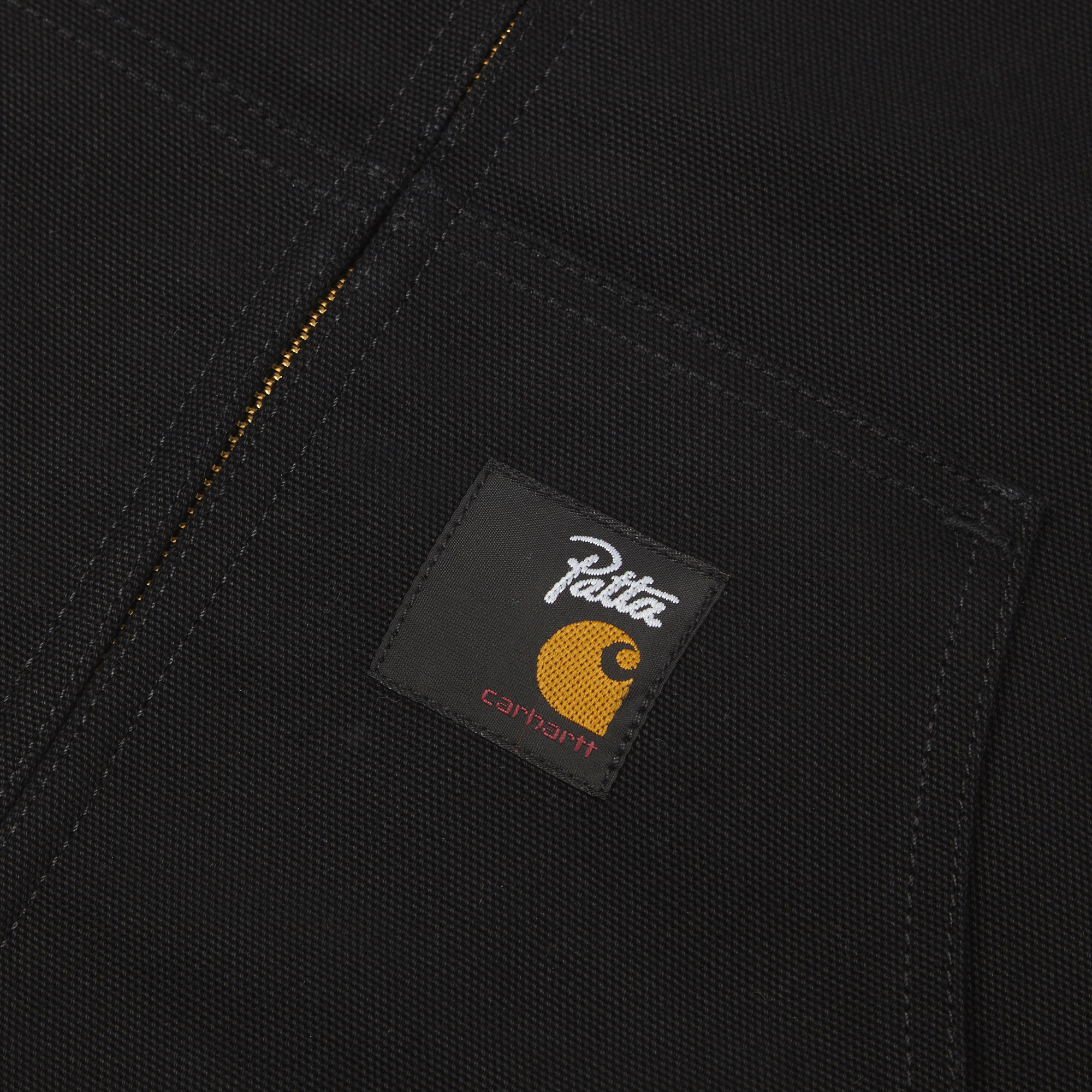 6ecb73ce7a Carhartt WIP x Patta Active Jacket - Black/Hamilton Brown