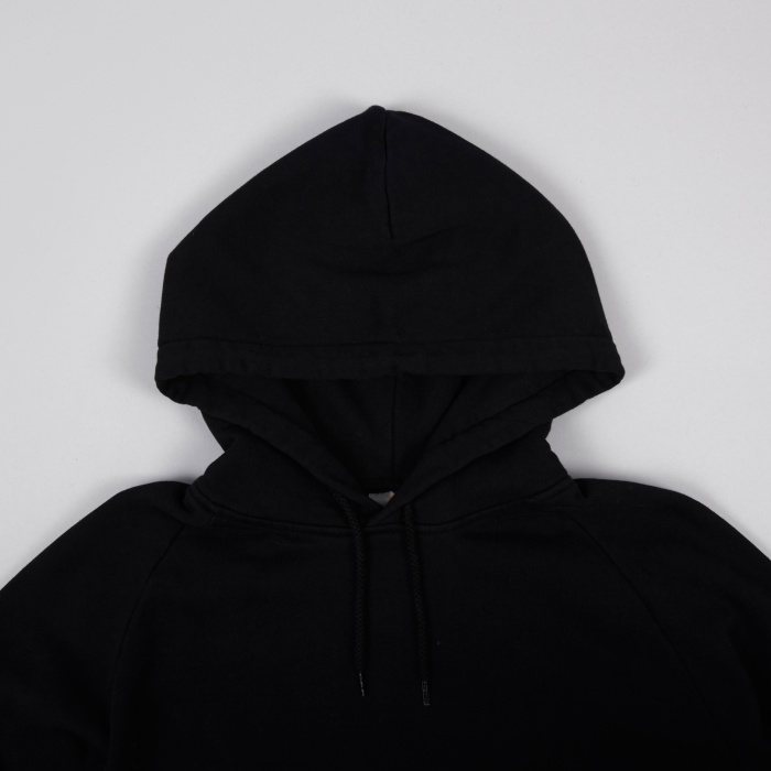 Carhartt WIP x Patta Hooded Sweat - Black/White (Image 1)