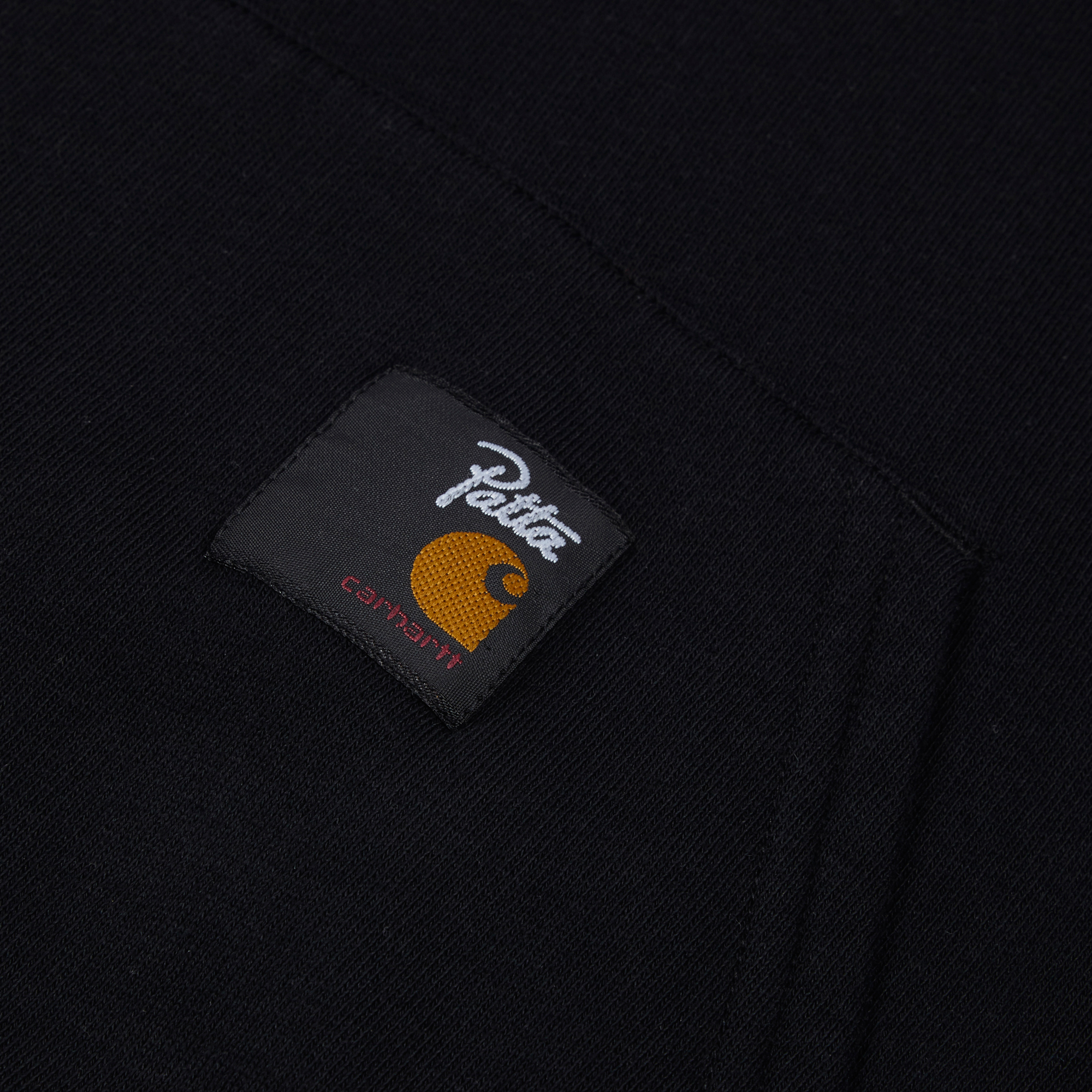 9d73b60a15 Carhartt WIP x Patta Hooded Sweat - Black/White