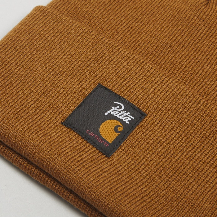 Carhartt WIP x Patta Watch Hat - Hamilton Brown (Image 1)