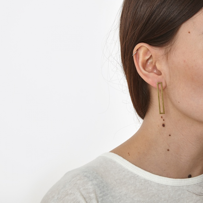 The Boyscouts Antenna Back Earrings - Gold Set (Image 1)