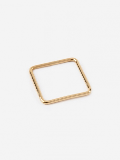 Square Ring - Gold