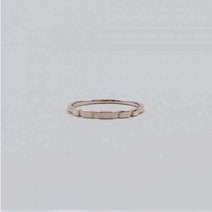 Maria Black Chuck Ring - Rose Gold (Image 1)