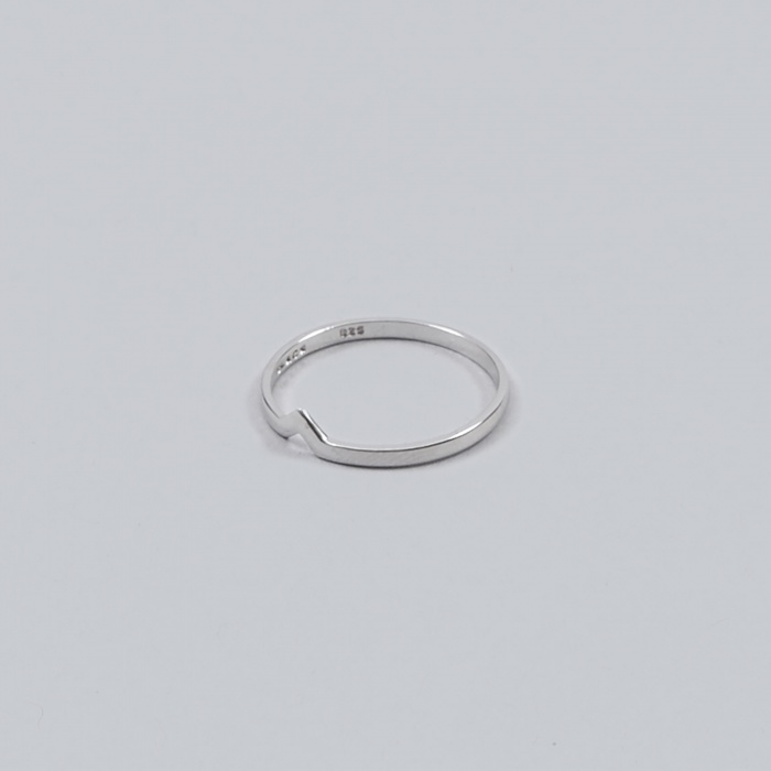 Maria Black Hero Ring - Silver (Image 1)