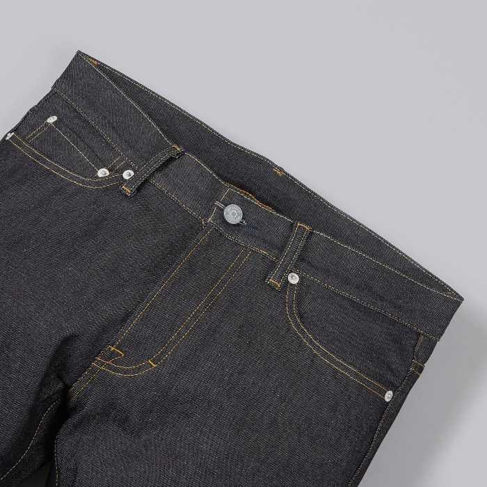 Our Legacy Cut Zero Jeans - Raw Blue (Image 1)