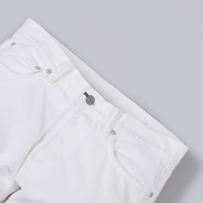 Our Legacy First Cut Jeans - Worn White (Image 1)