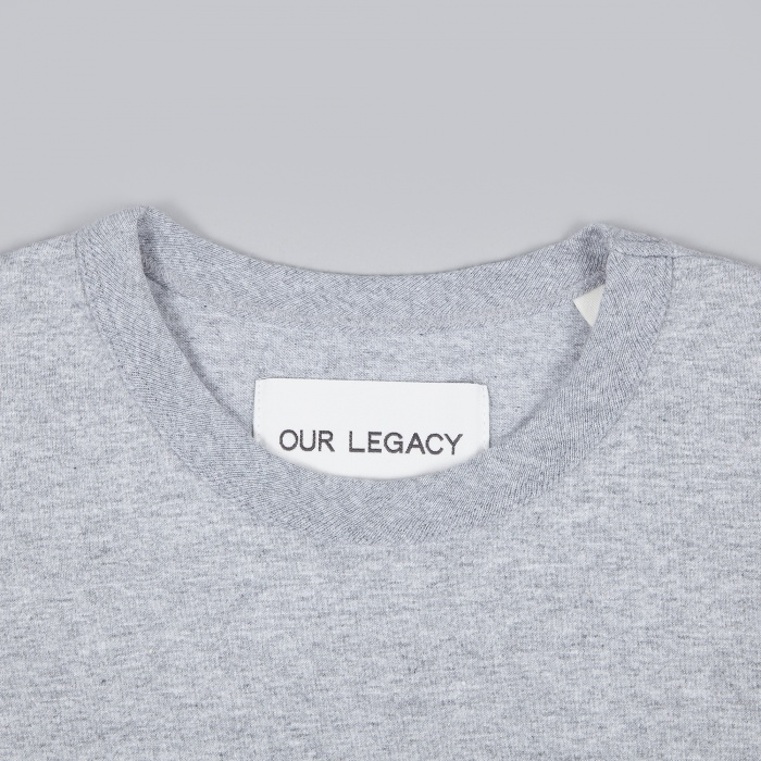 Our Legacy Perfect Tee - Grey Melage (Image 1)