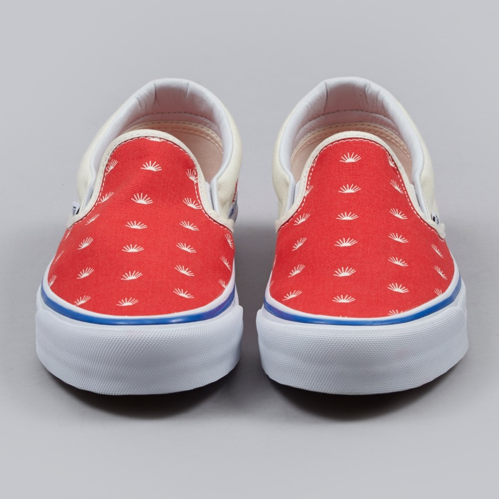 Gosha Rubchinskiy x Vans Slip On - Red (Image 1)