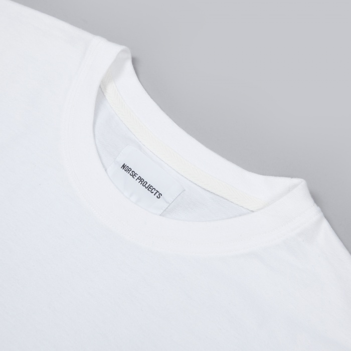 Norse Projects Niels Basic Tee - White (Image 1)