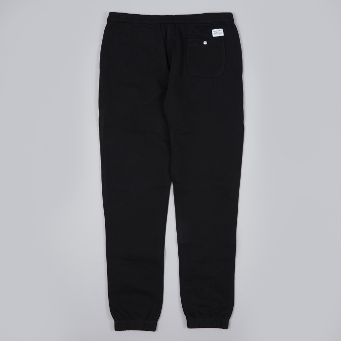 Norse Projects Ro Pant Solid Brushed - Black (Image 1)