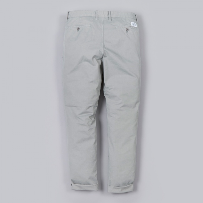 Norse Projects Aros Slim Light Twill Pant - Light Grey (Image 1)