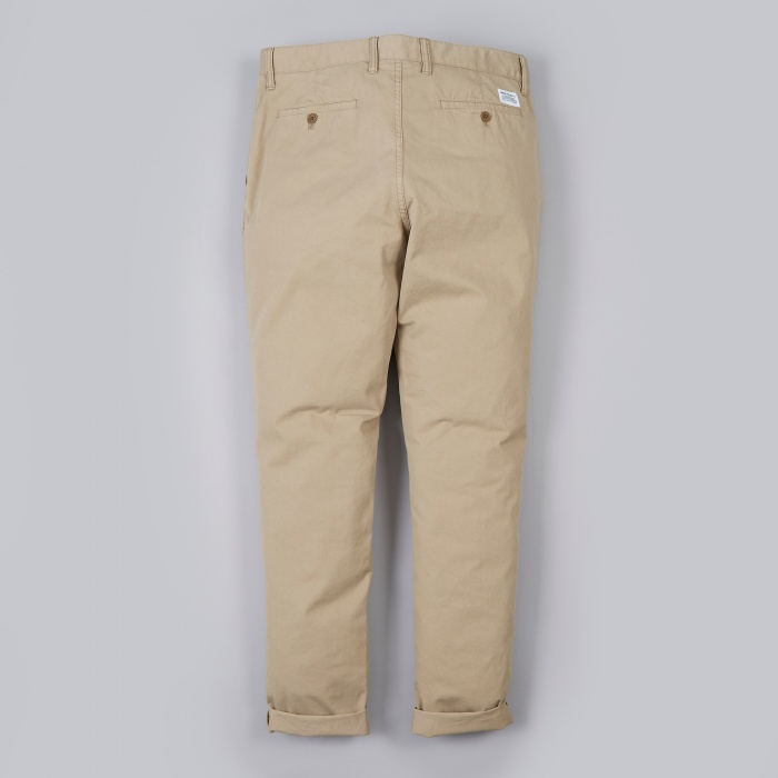 Norse Projects Aros Slim Light Twill Pant - Khaki (Image 1)