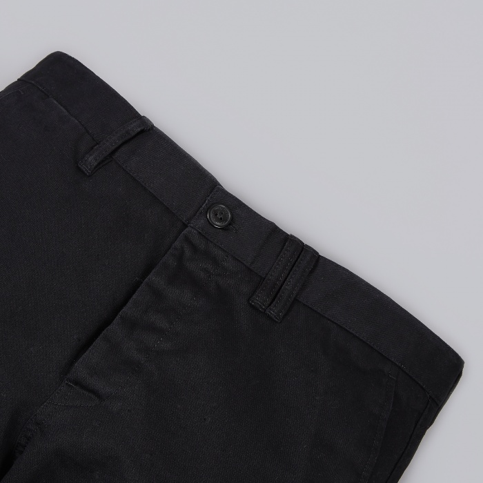 Norse Projects Aros Heavy Chino - Black (Image 1)