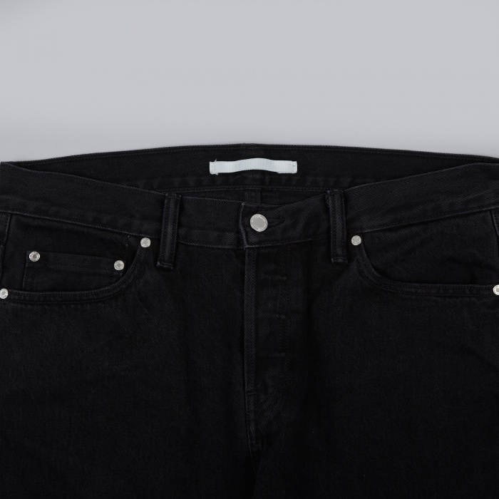 Norse Projects Slim Denim - Black (Image 1)