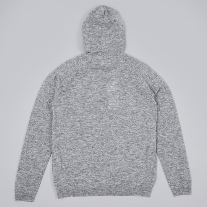 Norse Projects Asbjorn Melange Alpaca Knit - Light Grey Melange (Image 1)