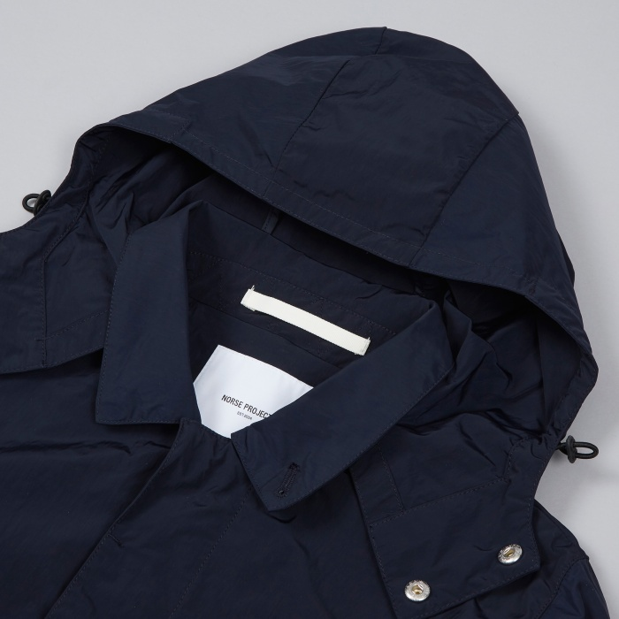 Norse Projects Thor Mini Light Jacket - Dark Navy (Image 1)