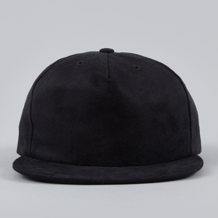 Norse Projects Fake Suede Trucker Cap - Black (Image 1)