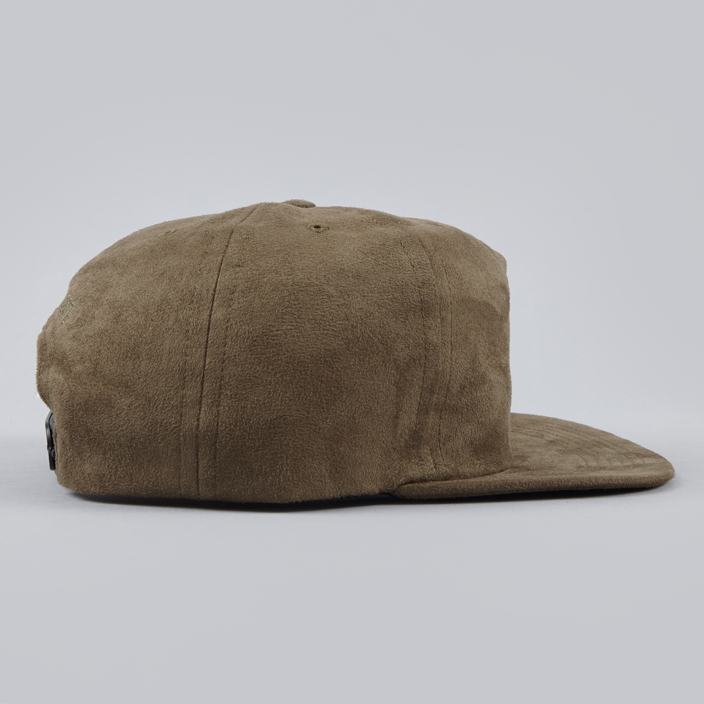 cef663bb5b2 Norse Projects Fake Suede Trucker Cap - Olive Drab