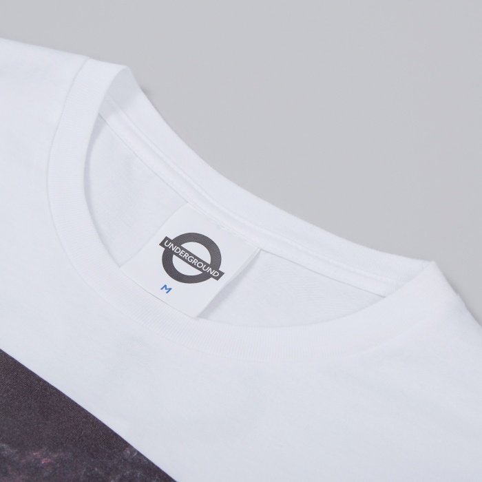 Roundel Trojan and Mark Taboo 1986 Tee - White (Image 1)