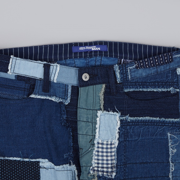 Junya Watanabe Man Patchwork Denim - Indigo Mix (Image 1)