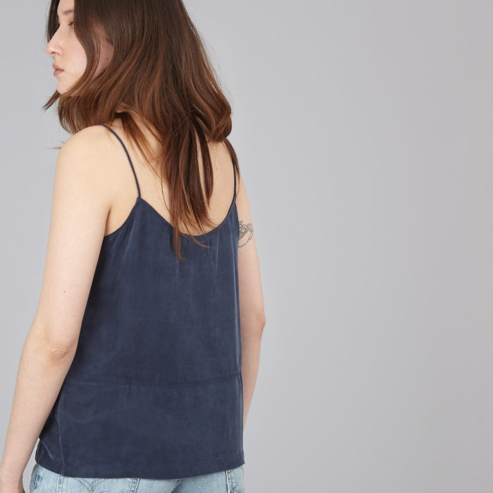 LF Markey Leon Slip Top - Navy (Image 1)