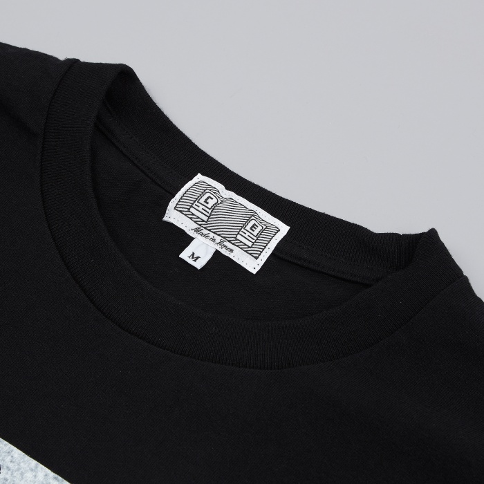 Cav Empt C.E Skel Long Sleeve T-Shirt - Black (Image 1)