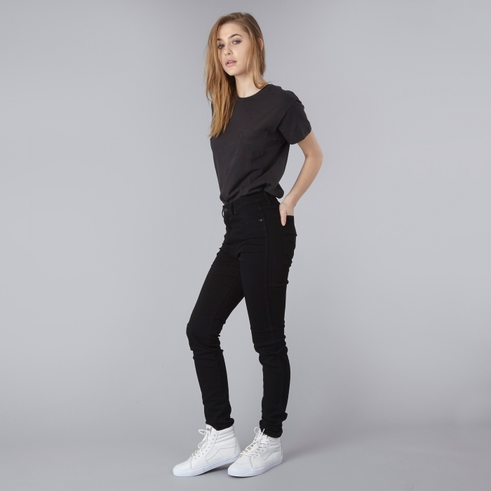 Neuw Marilyn Skinny Denim - Black Raw (Image 1)