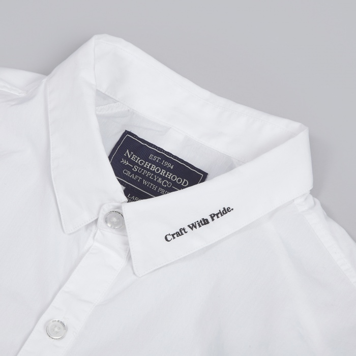 Neighborhood No.1 Shirt - White (Image 1)