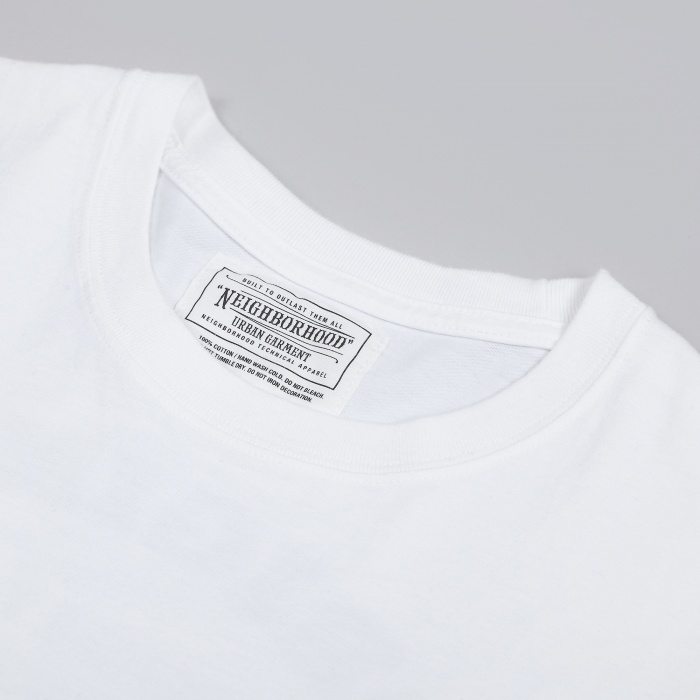 Neighborhood D.W.P Tee - White (Image 1)
