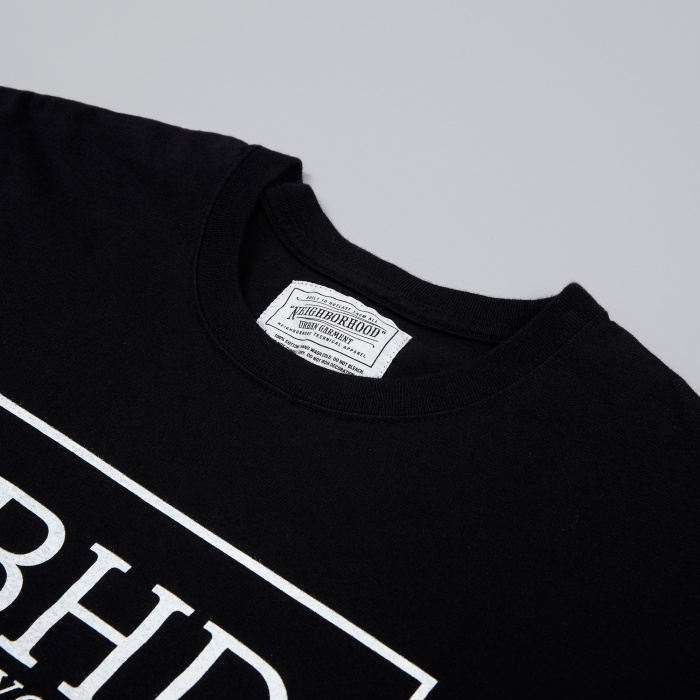 Neighborhood No.3 Tee - Black (Image 1)