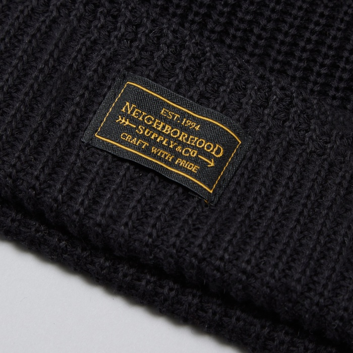 Neighborhood Jeep Beanie - Black (Image 1)